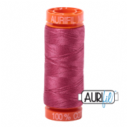 Aurifil 50 Cotton Thread - 2455 (Medium Carmine Red)
